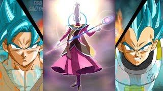 Goku and Vegeta vs Whis English Dub