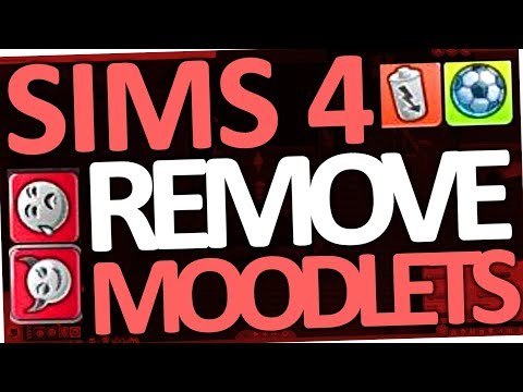 Sims 4 - How to remove Moodlets (All Buffs Cheat)