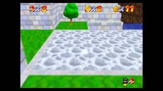 SM64SR - Chuckya Harbor- Invisible Mario + Chuckya Teleport (new?)