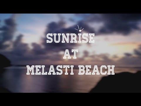 Sunrise at Melasti Beach, Bali