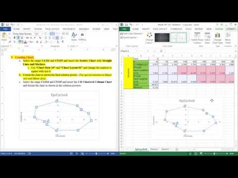 Microsoft Excel - Creating Chart