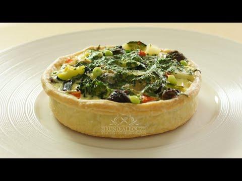 Escargot Aioli Tart, Garlic Custard – Bruno Albouze – THE REAL DEAL