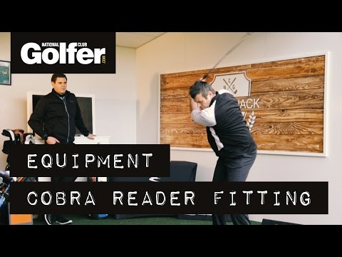 Cobra custom-fitting reader day at The Shack