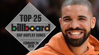 Top 25 • Billboard Rap Songs • February 24, 2018 | Airplay-Charts