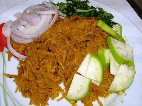 African Salads | Nigerian Ugba or Abacha... Nigerian Desserts