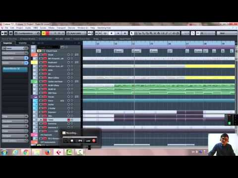 How to create harmony in Cubase 7.5