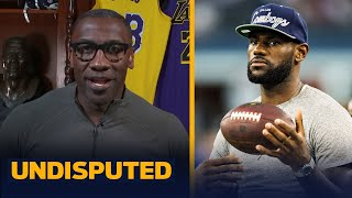 Shannon disagrees with Doc Rivers that LeBron could've been the best NFL player | NBA | UNDISPUTED