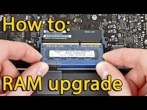 How to upgrade memory in Acer Aspire ES1-522, ES1-521, ES1-520