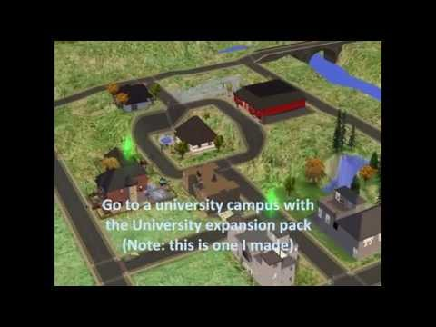 Get Rich Quick with Sims 2 University Pack (no cheat codes)