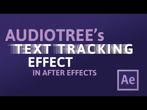 Audiotree's text tracking effect