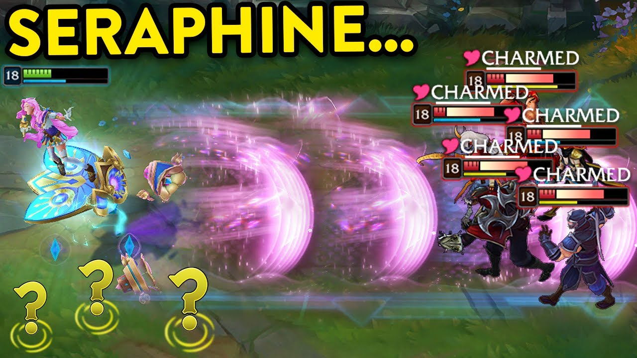 THE POWER OF SERAPHINE - Best Tricks & 200 IQ Plays - League of Legends