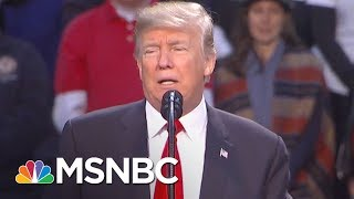 At Florida Rally Donald Trump Tells Alabama To Vote For Roy Moore | The 11th Hour | MSNBC