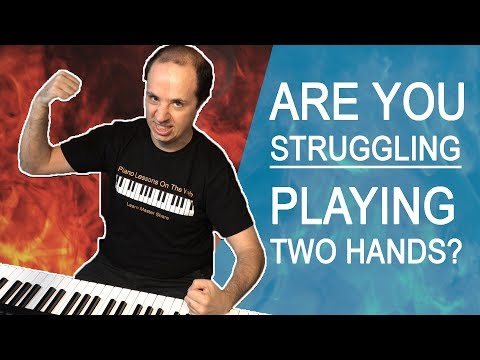The Most Common Problems Playing Piano with Both Hands and How to Avoid Them