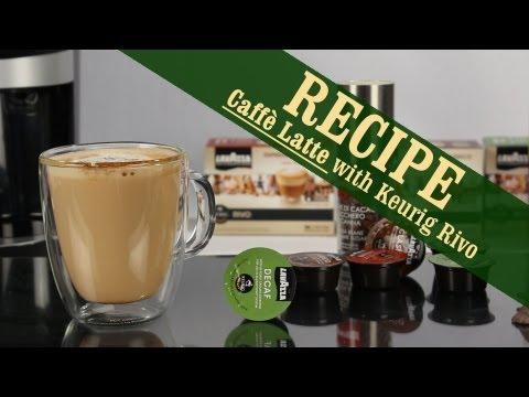Caffè Latte - Quick and Easy recipe with Keurig Rivo Espresso Machine