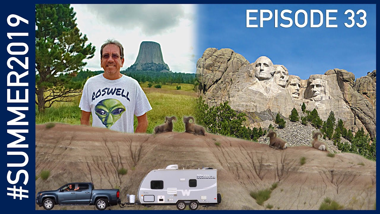 Driving to the East: Beartooth Highway, Devils Tower, Mount Rushmore and the Badlands #SUMMER2019 33
