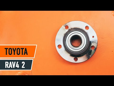 How to replace a rear wheel bearing on TOYOTA RAV4 TUTORIAL | AUTODOC