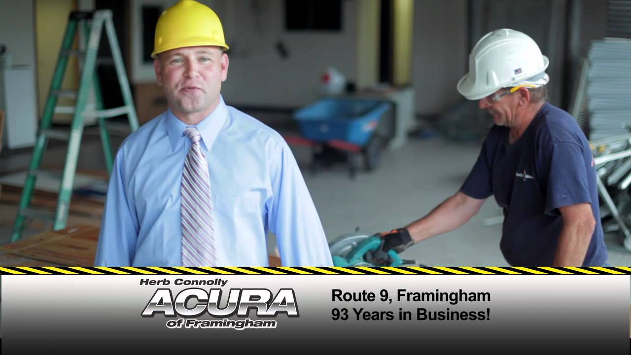 Herb Connolly Acura Construction Event