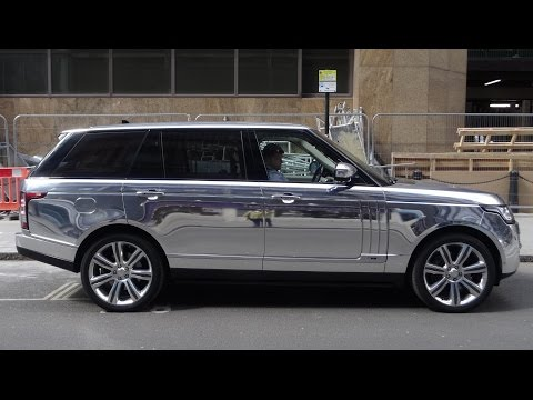 A Super Blinged up Silver Range Rover - Urban