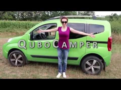 Qubocamper. Probably the smallest campervan in the world