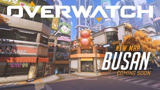 Download [NOW PLAYABLE] Busan | New Control Map | Overwatch Video