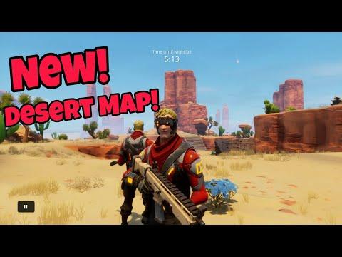 Fortnite New Desert Map (Season 4)