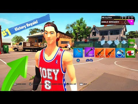 This is the Fortnite Version of NBA 2K18...