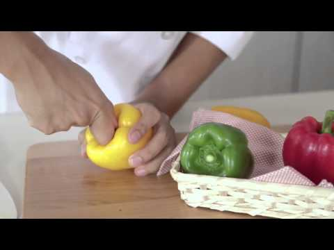 How to cut Bell Pepper for fajitas, stir fry, grilling | Cooking Tips