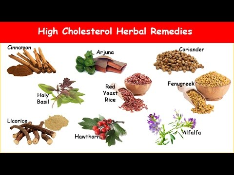 9 High Cholesterol Herbs; Reduces LDL & Increases HDL!