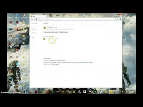 How to update Google Chrome fast in 1 min (HD)