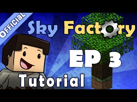 Minecraft Sky Factory Official Tutorial 3 - Cobblestone Generator