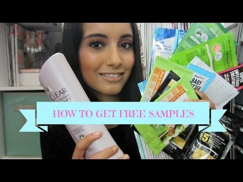 How to get free samples!
