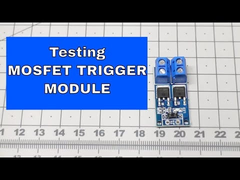 Demonstrating N-channel Mosfet module |From ICStation.com