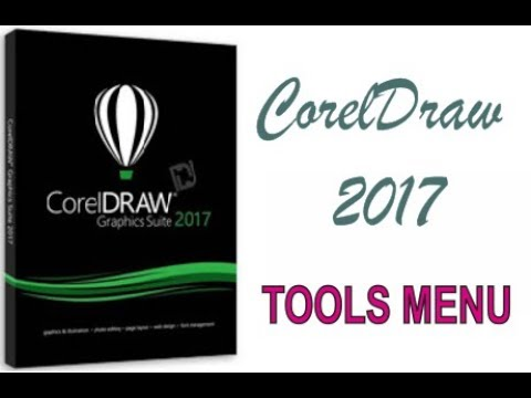 COREL DRAW 2017 USING TOOLS MENU HINDI URDU PART 51