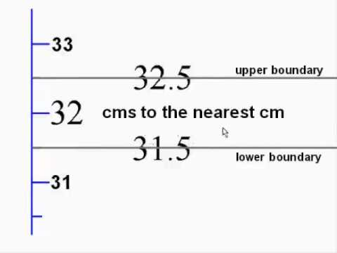 Upper and Lower Bounds 1 - how to calculate them