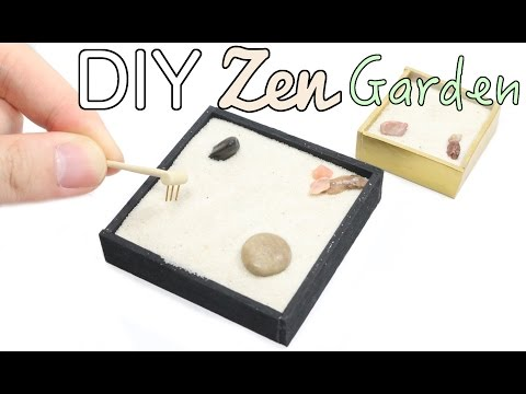 DIY Zen Garden Tutorial