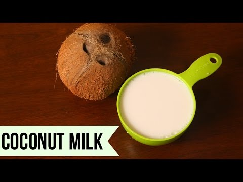 Coconut Milk | Fresh Coconut Milk Extraction | How to make Coconut Milk