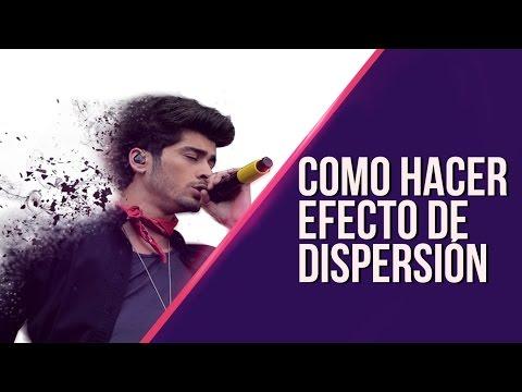Crear Efecto de Dispersion