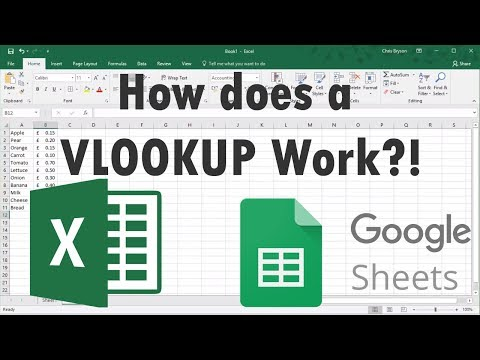 How Does A VLOOKUP Work in Excel or Google Sheets?