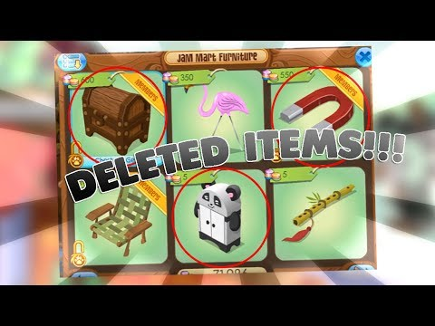 ANIMAL JAM NEW DELETED/GLITCHED ITEMS!!! (DON'T trade all your rares for these)