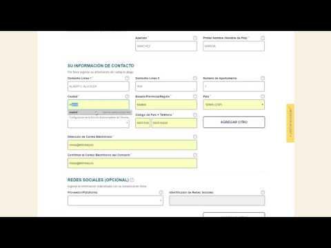 ESTA. Como rellenar el formulario ESTA para viajar a USA.