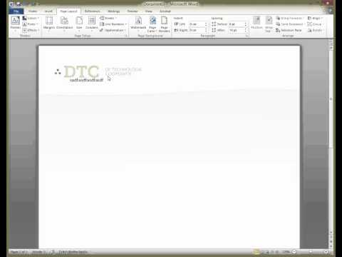 Letterhead template in Word, this is how to do it!