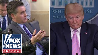 Trump lashes out at CNN's Acosta: 'I don't believe you're that bad of a guy'
