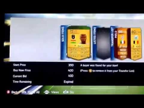 How to make money on Fifa 14 ultimate team