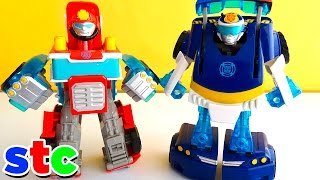 Transformers Rescue Bots Chase y Heatwave