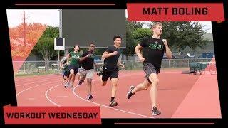 Matt Boling Workout Wednesday