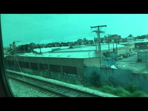 Metra North Central Service Line full ride (Chicago - Antioch)