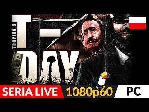 TROPICO 5 PL ☀️ Misje DLC #8 - Dzień T (T-DAY) 🌴 Kręcimy filmy!