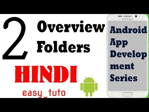 2 Overview Folders and Files | Android App Development Series | HINDI | HD