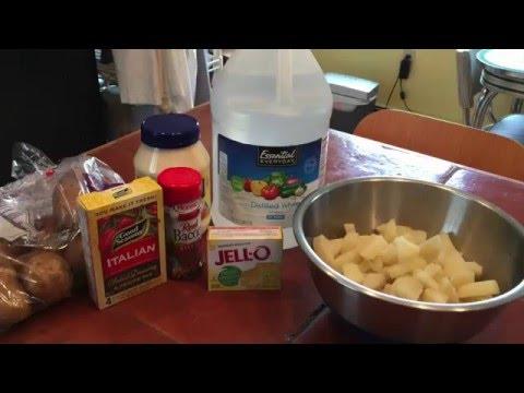Molded Potato Salad - Behind The Jell-O
