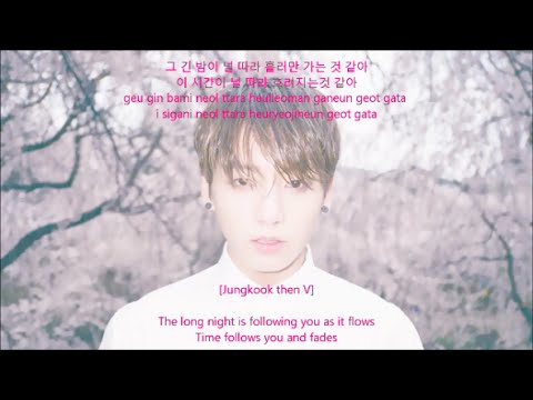 BTS 방탄소년단 Outro: Love Is Not Over Lyrics [HAN+ROM+ENG]